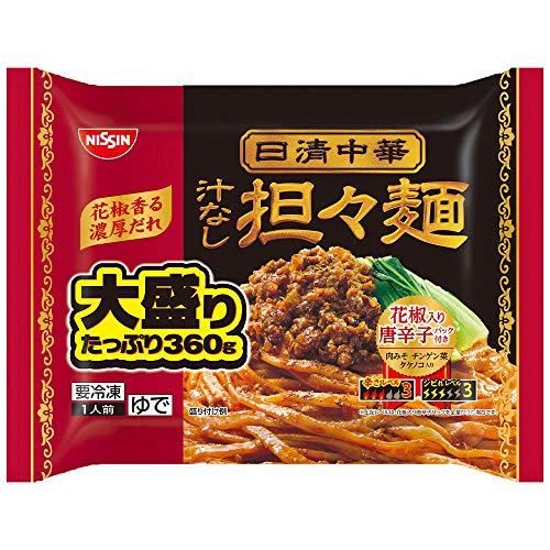 [冷凍]日清食品冷凍日清中華汁なし担々麵大盛り360g×7個