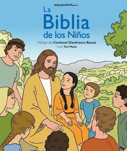 La BIBLIA de los niños (CÓMIC), de Picanyol (Biblioteca Religiosa)