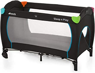 Hauck Sleep'N Play Go Plus Travel Bed 0M+ to 15kg- Black, 1 of Piece, 1 of Piece