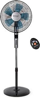Orbegozo SF 0640 – Ventilador silencioso de pie con mando a distancia, temporizador, 2 velocidades + Turbo + Silent, 40 cm de diámetro y potencia de 65 W