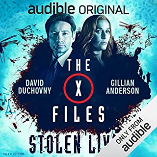 The X-Files: Stolen Lives audiobook cover art