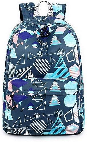 CL Rucksack - College Rucksack Pers ichkeit Mode Wild Größe Kapazit Freizeit Reisetasche Junior High School, High School Schüler Schultasche (42.5x30.5x13.5cm) Schultasche für Kinder