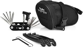 WOTOW Bike Repair Tool Kits Saddle Bag Bicycle Repair Set with Cycling Under Seat Packs..