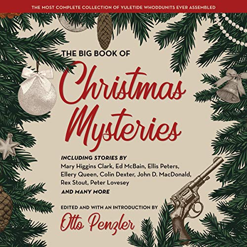 The Big Book of Christmas Mysteries audiobook cover art