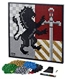 LEGO Art Harry Potter Hogwarts Crests 31201 Building Kit; Perfect for Adults Who Love Hobbies and Collectibles, New 2021 (4,249 Pieces)