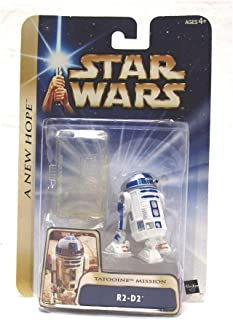 Star Wars R2-D2 With Clear Stand A New Hope Tatooine Mission