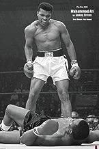 Muhammad Ali v Sonny Liston poster 60 x 90 cms
