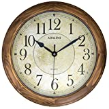 Adalene Wall Clocks Large Decorative for Living Room - 14 Inch Analog...