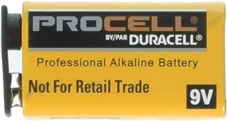 Duracell Procell 9 Volt Batterie (9V (Total 6 batteries))