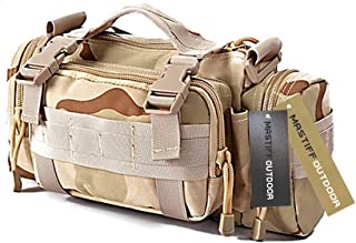 Mastiff Outdoor Camerabag Tactical MOLLE Military Sling Fanny Waist Gear Pack SD