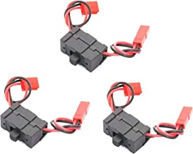 3 Pack ShareGoo On/Off Power Switch for Multicopter Airplane HSP 1/10 1/8 Car Crawler Truck