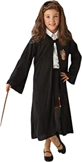 Rubie's Official Harry Potter Hermione Granger Gryffindor Costume Set, with Robe, Wig and Wand. One Size Approx Age 4-8 Years