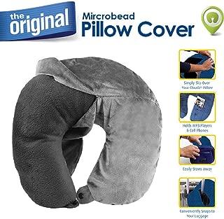 Cloudz Washable Travel Neck Pillow Cover - Grey