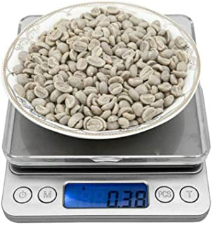 Digital Weighing Pans Scales 0.01g-500g Mini Electronic Scale for Jewelry Kitchen Herbs