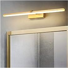 De nieuwe Nordic Gold 41 / 61CM Aluminium Mirror Front Light Hotel Study Bedroom Bedside Badkamer Energiebesparende kaptaf...