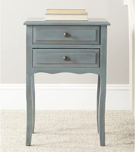Safavieh American Homes Collection Lori Barn Blue End Table