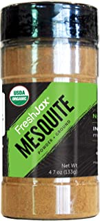 Sponsored Ad - FreshJax Premium Organic Spices, Herbs, Seasonings, and Salts (Certified Organic Mesquite Powder - Large Bo...