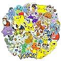 ROZO Pegatinas, 80PCS Paquete de Pokemon Pegatinas, Calcomanías Impermeable Tumblr VSCO Sticker PVC Vinals para Coche, Bicicleta, Moto, Equipaje, Portátil, Dormitorio, Funda de Viaje (80pcs) de ROZO