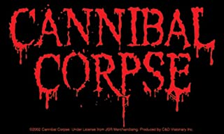 Licenses Products Cannibal Corpse Logo Sticker