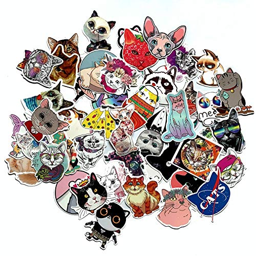 DSD Suitcase Toy Laptop Bicycle Luggage Car Scooter Skateboard Sticker 50Pcs