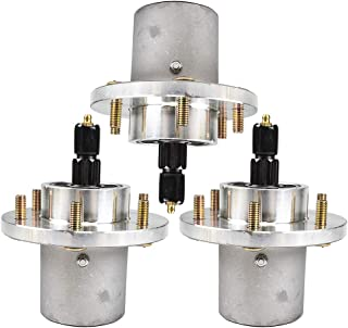 8TEN 3pk Deck Spindle Assembly for Ariens Gravely Great Dane Scamper Chariot Pro Zoom 00200262 00872700 D18030