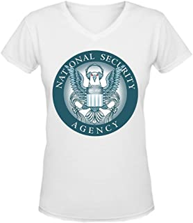 Women's The Electronic Frontier Foundation Short V T-shirt