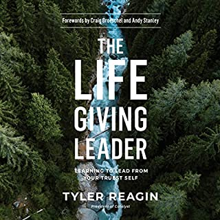 The Life-Giving Leader audiobook cover art