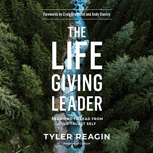 The Life-Giving Leader cover art