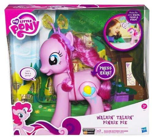 Hasbro - A1384 - Figurine - My Little Pony - Crystal Walking Pinkie Pie