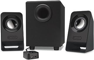 Logitech Multimedia Speakers Z213, Głośniki Komputerowe, Pełny Dźwięk, Analog, Pc/Mac - Czarny,980-000942