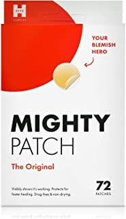 Best Mighty Patch Original - Hydrocolloid Acne Pimple Patch Spot Treatment (72 count) for Face, Vegan, Cruelty-Free Review