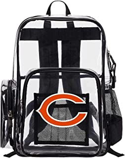 The Northwest Company Chicago Bears NFL Dimension Clear Backpack