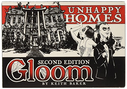 Atlas Games ATG01352 - Gloom - Unhappy Homes, 2nd Edition, Kartenspiel