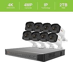 Revo America Ultra 16 Ch. 2TB HDD IP NVR Video Surveillance System, 8 x 4MP IP Bullet Cameras - Remote Access via Smart Phone, Tablet, PC & MAC