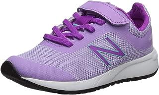New Balance Kids' 455v2 Hook and Loop Running Shoe