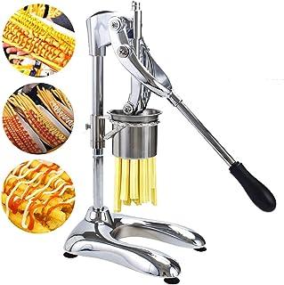 DYJD 30cm Manuel Long Frites Extrudeuse Frites Extrudeuse Potato Chip Extrudeuse Pommes de Terre Frites Slicer Fries Acier...