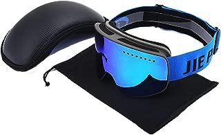 Aooaz Cylindrical Three Dimensional Magnet Ski Goggles Double Anti Fog And Windproof Eye Ski Glasses