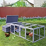 Best Chicken Coops - Chicken Coop for 4-6 Chickens/Ducks, Outdoor Wooden Chicken Review