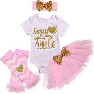 a38cd05f54a Baby Girl Clothes 1st Birthday Outfit Romper Tutu Skirts Party Dresses  Outfit Headband Leg Warmer Clothes
