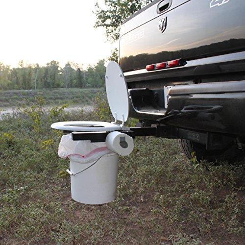 Bumper Dumper The Original Hitch Mountable Portable Toilet (Made in USA)