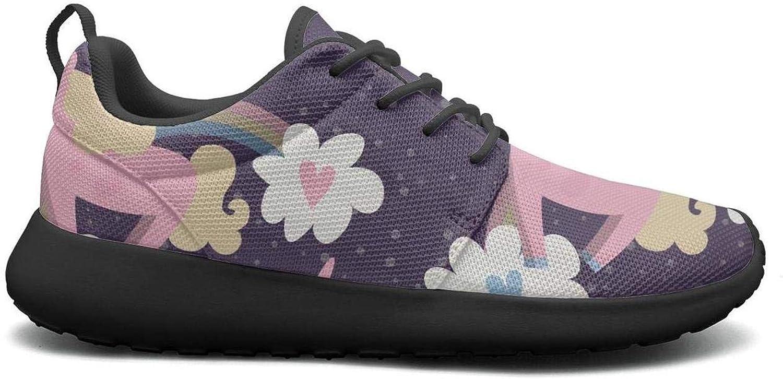Gjsonmv Running Unicorn mesh Lightweight shoes for Women Cool Sports Tennis Sneakers shoes