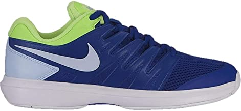 Nike Air Zoom Prestige Mens Tennis Shoe (10 D US, Indigo Force/Half Blue/Volt Glow/White)
