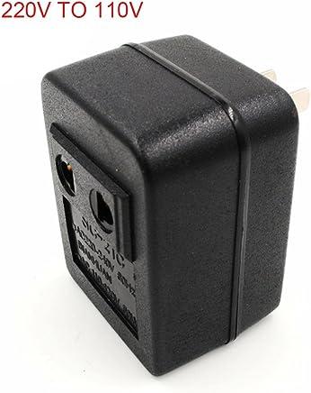 ccsfrgtrh AC 220V a 110V / 110V a 220V Regulador del Transformador del Viaje del Adaptador