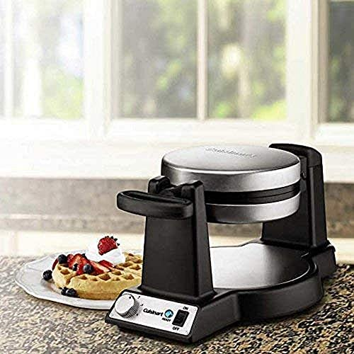 high quality Cuisinart Di FWM-25PC2 Innovative Round Rotary Flip sale lowest Home Belgian Waffle Maker, 7 Inch Diameter, Stainless Steel/Black, 2.6 outlet sale