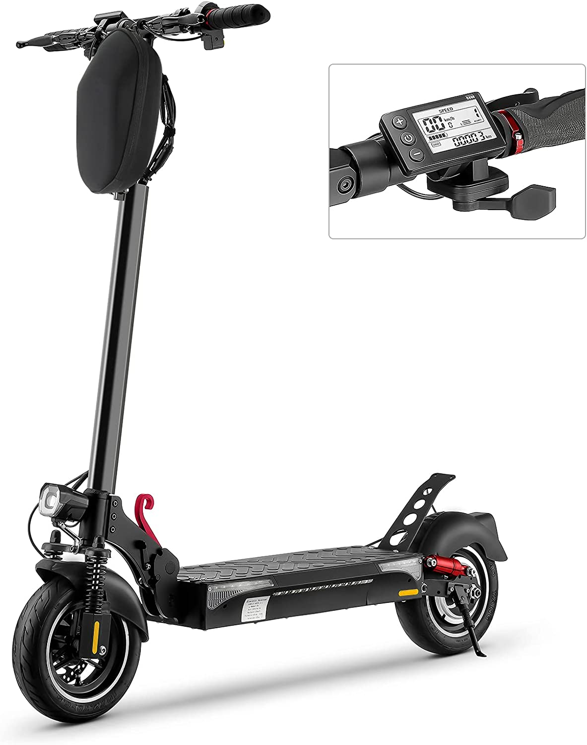 iScooter Patinete Electrico - 500W Motor, 10 Neumático ...