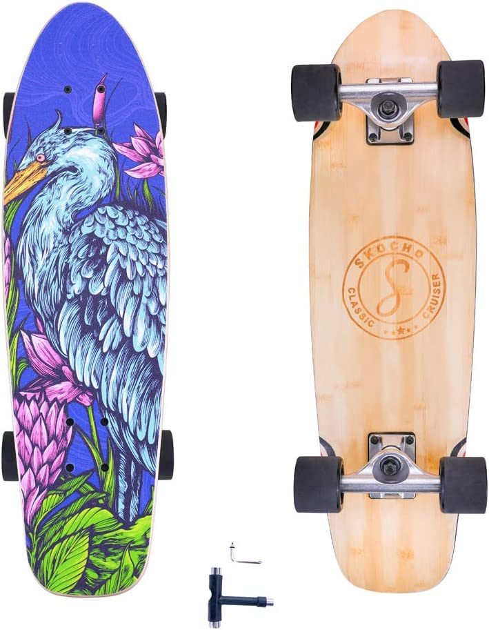 Complete-Standard Cruiser-Skateboards Fashionable for Adults-Beginners Cheap bargain Teens