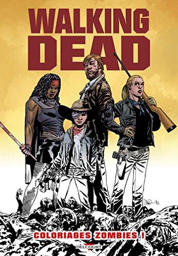 Walking Dead - Album de coloriages