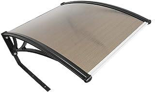 Turefans Caseta para Robots cortacésped,Refugio para Robot segador, protección del Sol y Las tormentas, 102 x 78.3 x 34 cm (marrón)