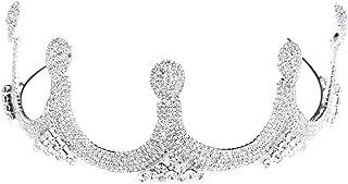 LUCKYYY Accessori per Abiti da Sposa Corona Semplice Corona da Sposa