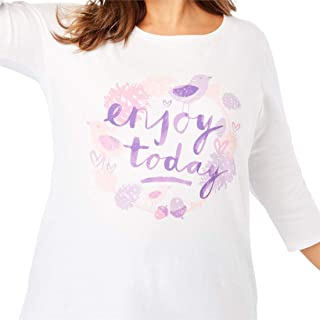 a70f2b60d3c Amazon.com  Woman Within - Knits   Tees   Tops   Tees  Clothing ...